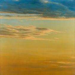 Sin título, 1975. Serie cielos